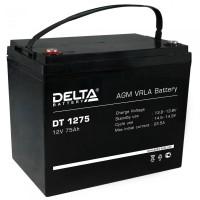 DT 1275 (Delta) Аккумулятор 12В; 75 Ач, AGM