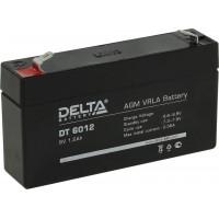 DT 6012 (Delta) Аккумулятор 6В; 1.2 Ач, AGM