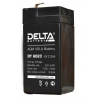 DT 6023 (Delta) Аккумулятор 6В; 2.3 Ач, AGM