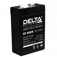 DT 6028 (Delta) Аккумулятор 6В; 2.8 Ач, AGM