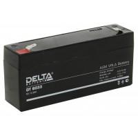 DT 6033 (Delta) Аккумулятор 6В; 3.3 Ач, AGM