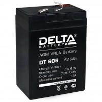 DT 6045 (Delta) Аккумулятор 6В; 4.5 Ач, AGM