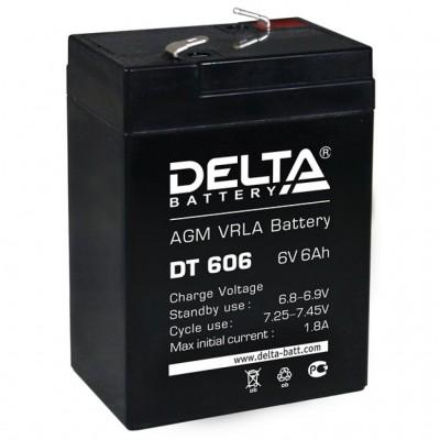 Delta DT 6045, AGM аккумулятор