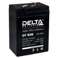 DT 606 (Delta) Аккумулятор 6В; 6 Ач, AGM