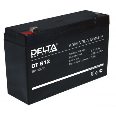 Delta DT 612, AGM аккумулятор