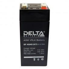 DT 4045 (47) (Delta) Аккумулятор 4В; 4.5 Ач, AGM