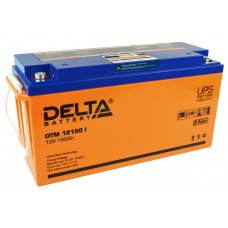 DTM 12150 I (Delta) AGM аккумулятор (12В; 150А*ч) с цифровым дисплеем