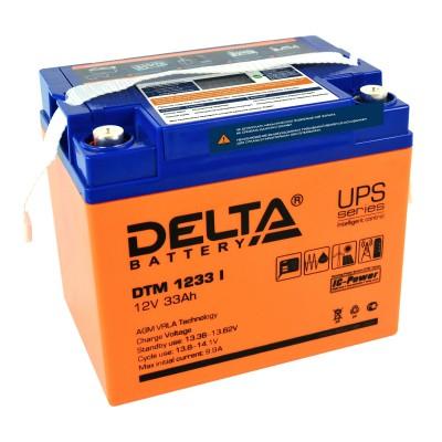 DTM 1233 I, AGM аккумулятор с цифровым дисплеем