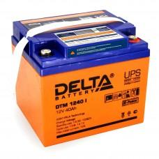 DTM 1240 I (Delta) AGM аккумулятор (12 В; 40 А*ч) с цифровым дисплеем