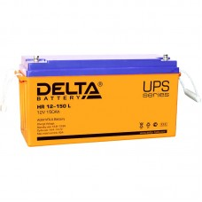 HR 12-150 L (Delta) Аккумулятор 12В; 150 Ач, AGM