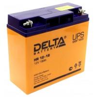 HR 12-18 (Delta) Аккумулятор 12В; 18 Ач, AGM