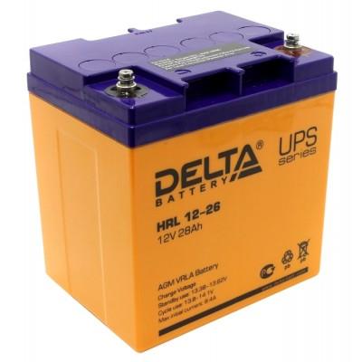 Delta HR  4.5-100 А*ч, 8-12 лет UPS series