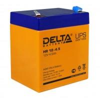 HR 12-4.5 (Delta) Аккумулятор 12В; 4.5 Ач, AGM