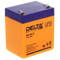HR 12-5 (Delta) Аккумулятор 12В; 5 Ач, AGM
