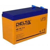 HR 12-7.2 (Delta) Аккумулятор 12В; 7.2 Ач, AGM