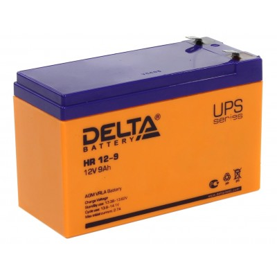 HR 12-9 AGM аккумулятор для ИБП (UPS)