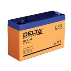 HR 6-12 (Delta) Аккумулятор 6В; 12 Ач, AGM