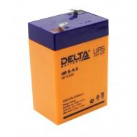 HR 6-4.5 (Delta) Аккумулятор 6В; 4.5 Ач, AGM