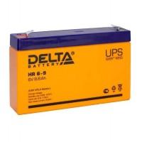 HR 6-9 (Delta) Аккумулятор 6В; 9 Ач, AGM