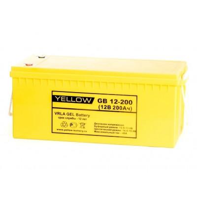 GB12-200 (200Ач, 12В) Гелевый аккумулятор