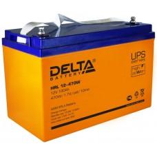 HRL12-470W (Delta) AGM аккумулятор 12В; 100 Ач