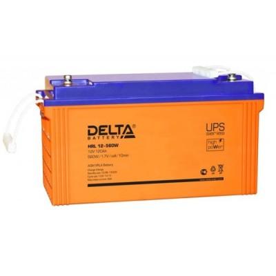 HRL12-560W (Delta) AGM аккумулятор 12В; 120 Ач