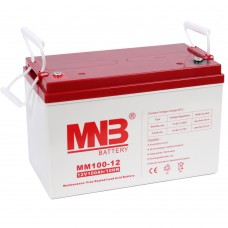 MM100-12 (MNB). AGM аккумулятор, 12В, 100Ач