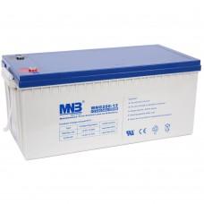 MNG 200-12 (12В; 200А*ч) Гелевый аккумулятор VRLA