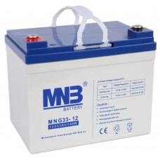 MNG 33-12 (12В; 33А*ч) Гелевый аккумулятор VRLA