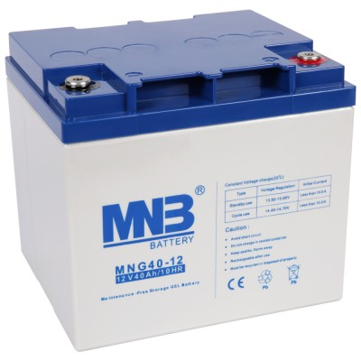 MNG 40-12 (12В; 40А*ч) Гелевый аккумулятор VRLA