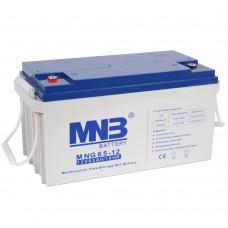 MNG 65-12 (12В; 65А*ч) Гелевый аккумулятор VRLA