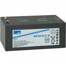 A512/3.5 S  Sonnenschein Гелевый аккумулятор (12В, 3.5А*ч)