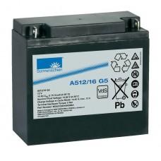 A512/16 G5  Sonnenschein Гелевый аккумулятор (12В, 16А*ч)