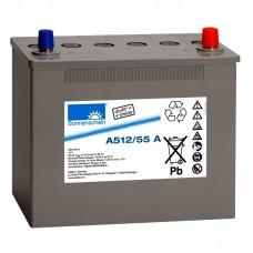 A512/55 A  Sonnenschein Гелевый аккумулятор (12В, 55А*ч)
