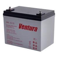 GPL 12-75 (Ventura)  Аккумулятор 12В; 75Ач; AGM