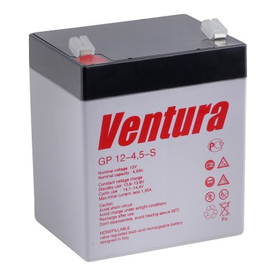 GP 12-4.5 AGM аккумулятор 12В, 4.5Ач