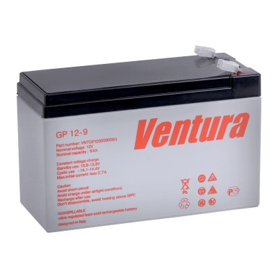 GP 12-9 AGM аккумулятор 12В, 9Ач