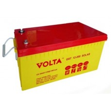 GST 12-200 (Volta) Гелевый аккумулятор глубокого разряда (12В; 200А*ч)
