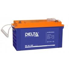 Delta GX12-120 Xpert Гелевый аккумулятор (12В; 120А*ч)