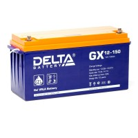 Delta GX12-150 Гелевый аккумулятор (12В; 150А*ч)