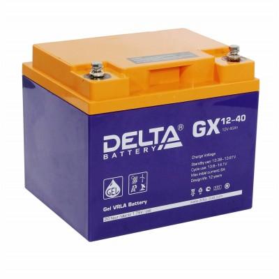 Delta GX12-40 Гелевый аккумулятор 40А*ч