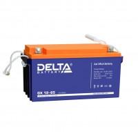 Delta GX12-65 (12В; 65А*ч) Гелевый аккумулятор