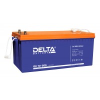 Delta GX12-200 Гелевый аккумулятор (12В; 200А*ч)