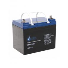 HM-12-33 (12В; 33 А*ч) Аккумулятор AGM