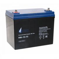 HM-12-75 (12В; 75 А*ч) Аккумулятор AGM