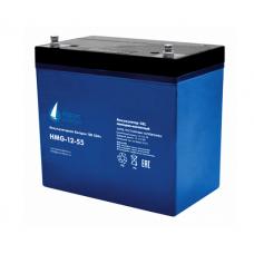 HMG-12-55 (12В; 55 А*ч) Гелевый аккумулятор