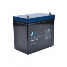 HML-12-55 (12В; 55 А*ч) Аккумулятор AGM