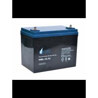 HML-12-75 (12В; 75 А*ч) Аккумулятор AGM