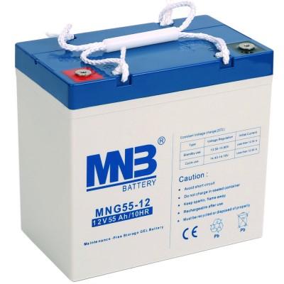 MNG 55-12 (12В; 55А*ч) Гелевый аккумулятор VRLA