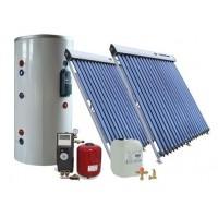 Солнечная сплит-система для отопления и ГВС помещений на 200 л
